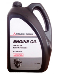 Моторное масло Mitsubishi ENGINE OIL 0W-20 4л MZ320724