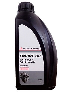 Моторное масло Mitsubishi ENGINE OIL 5W-40 1л MZ320361