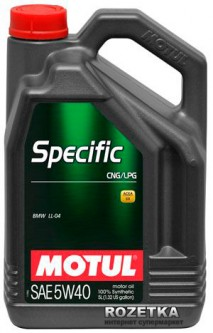 Моторное масло Motul Specific CNG/LPG 5W-40 5 л (101719)