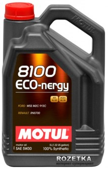 Моторное масло Motul 8100 Eco-nergy 5W-30 5 л (102898)