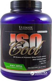Протеин Ultimate Nutrition UltN IsoCool 2.27 кг Apple (099071002556)
