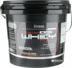 Протеин Ultimate Nutrition Prostar Whey Protein 4.54 кг Chocolate (099071001962)