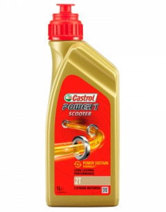 Моторное масло Castrol Power 1 Scooter 2T 1л MW-P1S2T-12X1L1