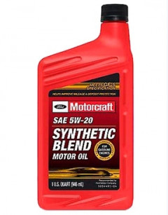 9c62ea2bd2e Моторное масло Ford Motorcraft Synthetic Blend Motor Oil 5W-20 0