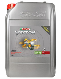 Моторное масло Castrol Vecton (Tection) 10W-40 20л R1-VT104-20L1