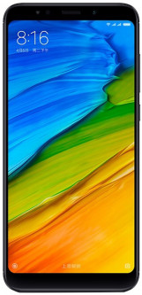 Xiaomi Redmi 5 Plus 4/64GB Black (Global Rom + OTA)