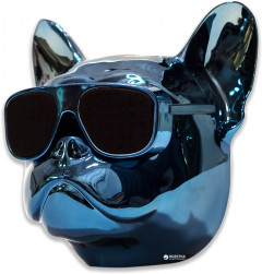 Акустическая система Qitech Aerobull XL Blue Chrome (QT-dog-XLBlCh)
