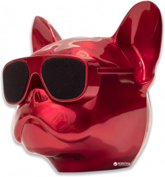 Акустическая система Qitech Aerobull XL Red Chrome (QT-dog-XLRdCh)