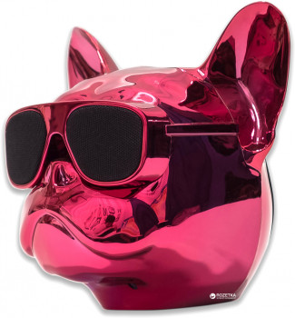 Акустична система Qitech Aerobull XL Pink Chrome (QT-dog-XLPiCh)