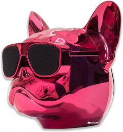 Акустическая система Qitech Aerobull XL Pink Chrome (QT-dog-XLPiCh)