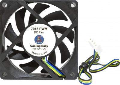 Кулер Cooling Baby 7015 PWM