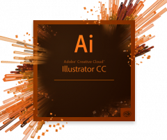 Adobe Illustrator CC Multiple Platforms Multi European Languages License New 1 лицензия 1 ПК на 1 год (65297603BA01A12)