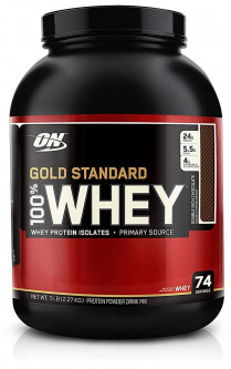 Optimum Nutrition 100% Whey Gold Standard 2273 грамм - Белый шоколад