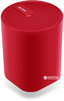 Acme SP109 Dynamic Bluetooth Speaker Red (4770070879405)
