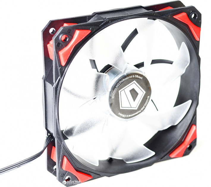 Кулер ID-COOLING PL-12025-R Red LED