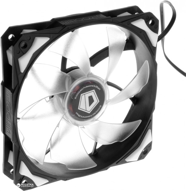 Кулер ID-COOLING PL-12025-W White LED