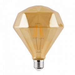 Лампа светодиодная Horoz Electric Filament Rustic Diamond-6 (001-034-0006)