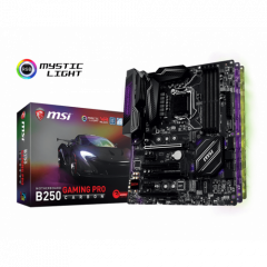 Материнская плата MSI B250 GAMING PRO CARBON (s1151, Intel B250)