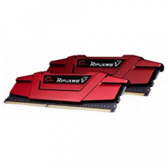 ОЗУ G.Skill DDR4 16GB (2x8GB) 2666Mhz Ripjaws V Red (F4-2666C15D-16GVR)