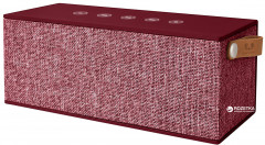 Акустическая система Fresh 'N Rebel Rockbox Brick XL Fabriq Edition Bluetooth Speaker Ruby (1RB5500RU)