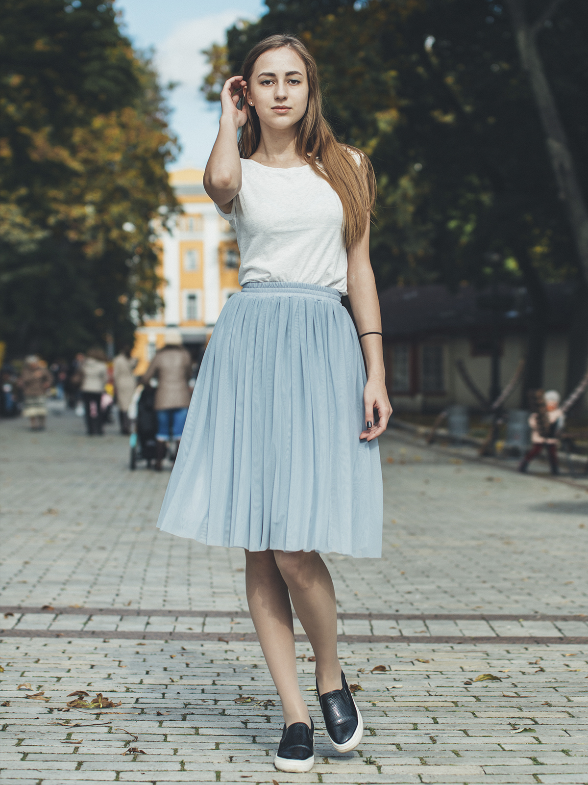 195e111537b Юбка-пачка Тю-Тю! AIRSKIRT Casual XS S светло-серая(