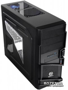 Корпус Thermaltake Commander MS-I Black (VN400A1W2N)