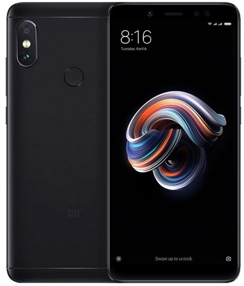 Redmi Note 5 3/32GB Black (Global Rom + OTA)