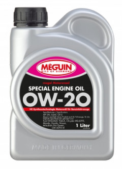 Моторное масло MEGUIN SPECIAL ENGINE OIL SAE 0W-20 1л 70781