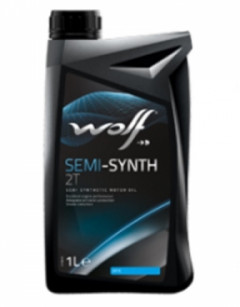 Моторное масло Wolf SEMI-SYNTH 2T 1л 83018031