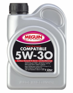 Моторное масло MEGUIN COMPATIBLE SAE 5W-30 1л 65611