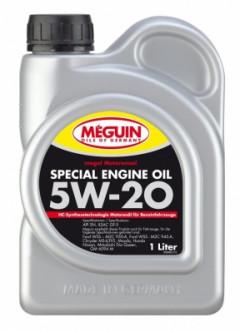 Моторное масло MEGUIN SPECIAL ENGINE OIL SAE 5W-20 1л 94981