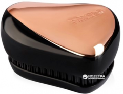 Расческа Tangle Teezer Compact Styler Rose Gold Black (5060173372606)