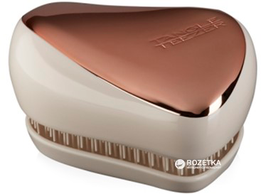 18dedcf553b9 Расческа Tangle Teezer Compact Styler Rose Gold Ivory (5060173373979)