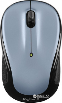 Мышь Logitech M325 Wireless Silver (910-002334)