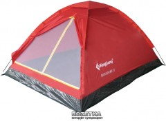 Палатка KingCamp Monodome 3 Red (KT3010 Red)