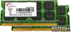 Оперативная память G.Skill SODIMM DDR2-667 4096MB PC2-5300 (Kit of 2x2048) (F2-5300CL5D-4GBSA)