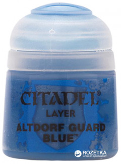 Краска акриловая Games Workshop Citadel Layer Altdorf Guard Blue 12 мл (5011921027019)