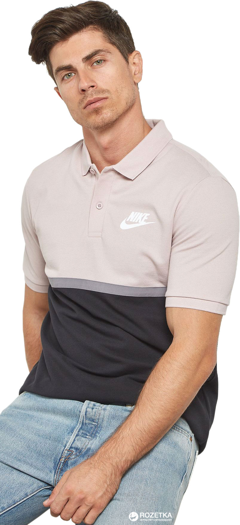 Поло Nike M Nsw Polo Matchup Pq Nvlty 886507-684 L (888413735357) ce46a489b805c