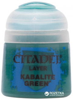 Краска акриловая Games Workshop Citadel Layer Kabalite Green 12 мл (5011921027248)