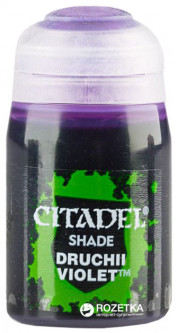Краска акриловая Games Workshop Citadel Shades Druchii Violet 24 мл (5011921068784)
