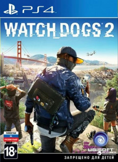 Watch_Dogs 2 (PS4, русская версия)