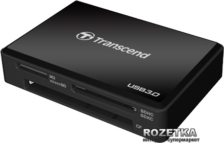 Кард-ридер Transcend Multi Card Reader F8 (TS-RDF8K)