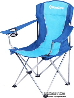 Раскладной стул KingCamp Arms Chairin Steel Blue (KC3818 Blue)