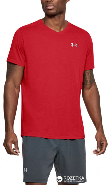 Футболка Under Armour Threadborne Streaker V Neck 1283380-629 S (191168967530)