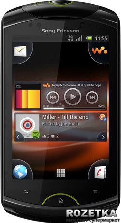 431b2c7aa0b16 ROZETKA | Sony Ericsson Live with Walkman WT19i Black. Цена, купить ...