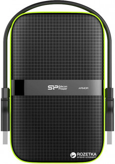 "Жесткий диск Silicon Power Armor A60 5TB SP050TBPHDA60S3K 2.5"" USB 3.1 External Black"