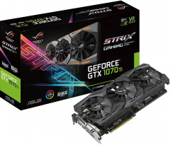 Asus PCI-Ex GeForce GTX 1070 Ti ROG Strix 8GB GDDR5 (256bit) (1607/8008)