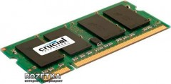 Оперативная память Crucial Micron SODIMM DDR2-800 2048MB PC2-6400 (CT25664AC800)