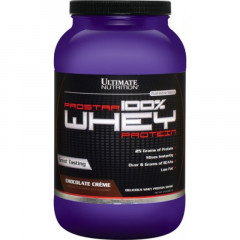 Ultimate Nutrition Prostar 100% Whey Protein 907 грамм - Банан
