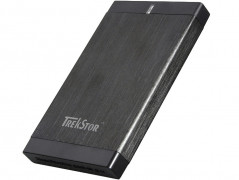 "Жесткий диск TrekStor DataStation Pocket g.u 320GB TS25-320PGU 2.5"" USB 2.0 External Black Refurbished"